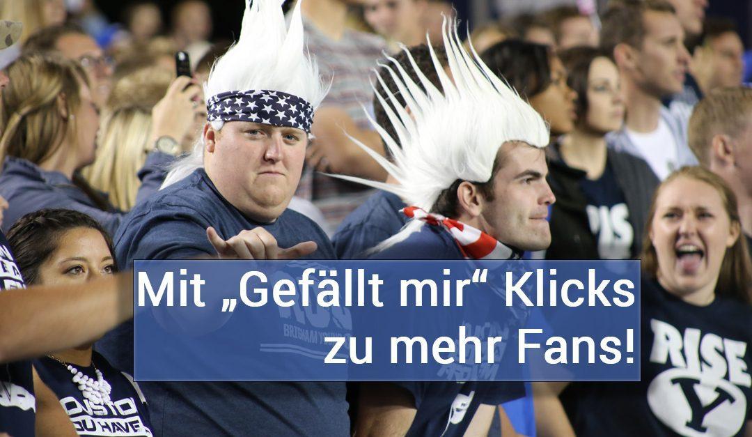 "Facebook User nach ""Gefällt mir"" Klick als Fans gewinnen #Anleitung"