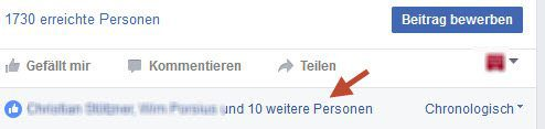 Facebook Gefällt Mir User einladen Fan zu werden