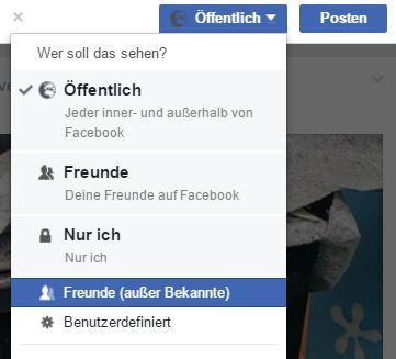 Facebook Freunde ohne Bekannte