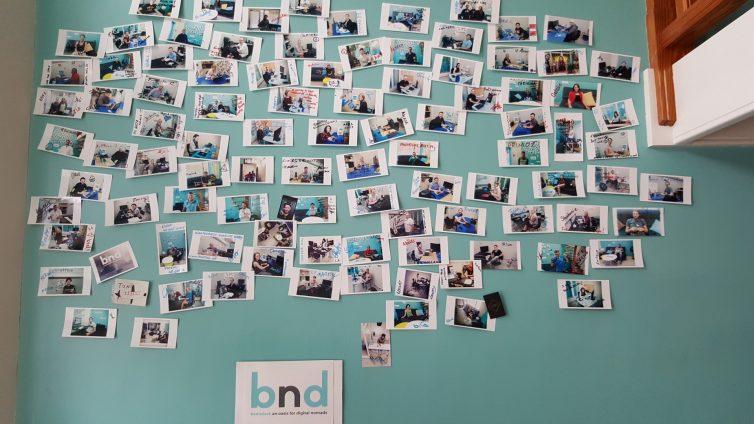 Wall of Fame aller bisherigen Coworker