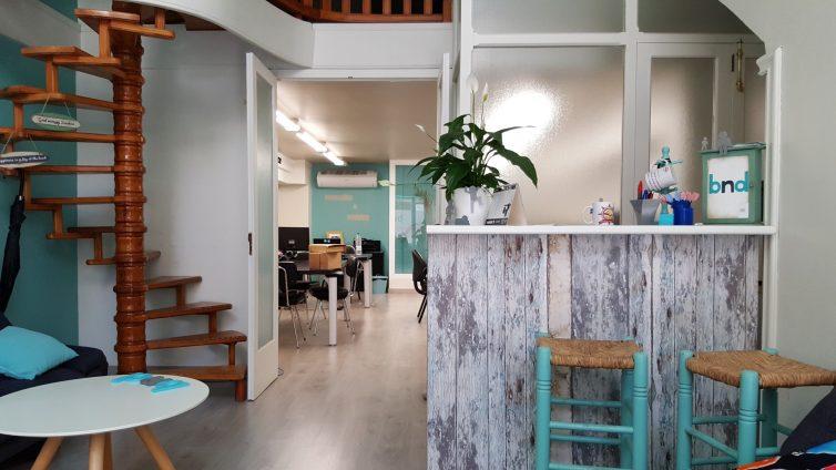 Eingangsbereich zum bedndesk Büro
