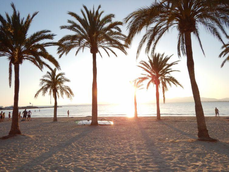 Strand von Llucmajor auf Mallorca