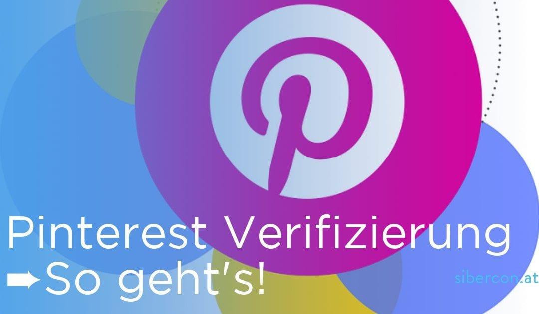 Warum und Wie Sie Ihre Webseite auf Pinterest verifizieren sollten