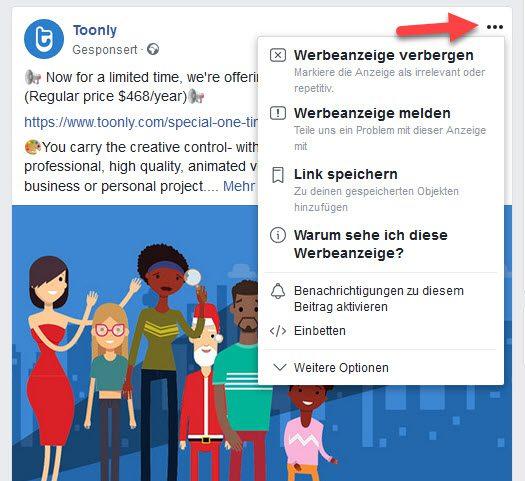 Versteckte Infos zu Facebook Ads finden - So geht's