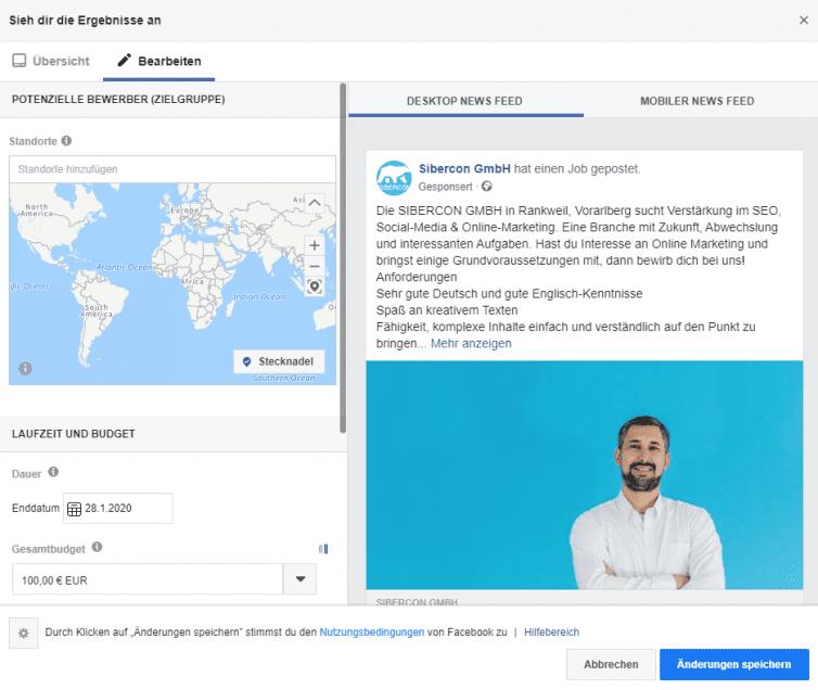 facebook-job-ad-erstellen