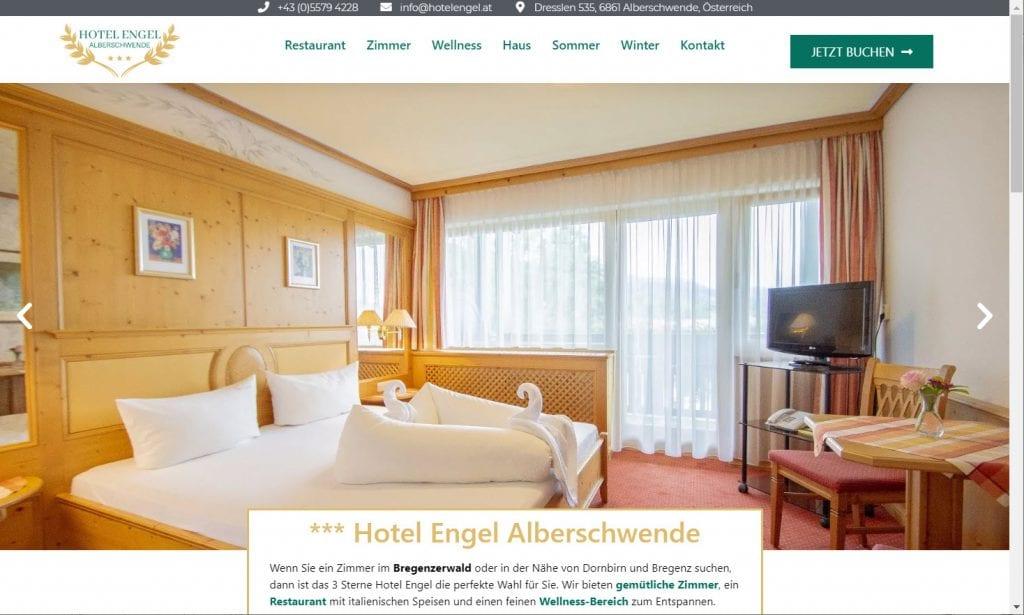 Hotel Engel Alberschwende, Bregenzerwald - Neue Webseite 2020